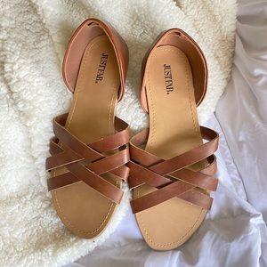 Just fab sandals NWOT sz 8